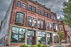 Fabricação de cerveja desregrado em Muskegon Michigan Fotos de Stock Royalty Free
