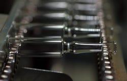 Fabricação de vidro médico Foto de Stock Royalty Free