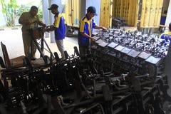Fabricação do equipamento de peso Imagem de Stock Royalty Free