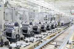 Fabricação do motor
