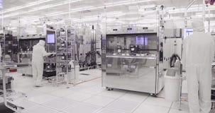 Fabricação do quarto desinfetado de bolachas de silicone para a indústria dos semicondutores filme