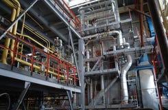 Fabricação química. Fotos de Stock Royalty Free