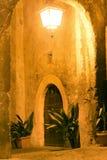 Fabrica di Roma vid natt Royaltyfria Bilder