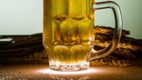 Fabricación de cerveza almacen de metraje de vídeo