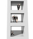 Fabricación de concepto de la carrera Fotografía de archivo
