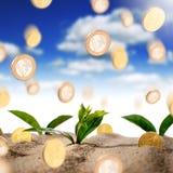 Fabricación de concepto del dinero Foto de archivo libre de regalías