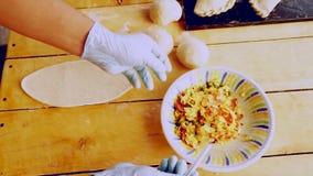 Fabricación de Empanadas hecho en casa
