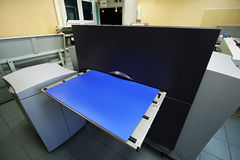 Fabricación de formularios impresos Imagen de archivo