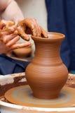 Fabricación de la cerámica Imágenes de archivo libres de regalías