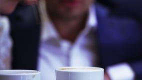 Fabricación de la educación del barista del café metrajes