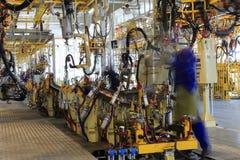 Fabricación de la fábrica Foto de archivo libre de regalías
