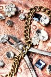 Fabricación de la joyería hecha a mano Fotos de archivo
