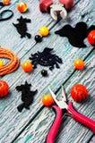 Fabricación de la joyería para Halloween Foto de archivo libre de regalías