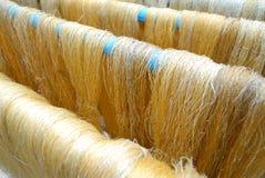 Fabricación de la seda Fotos de archivo libres de regalías