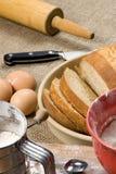 Fabricación de la serie 023 del pan Imagen de archivo libre de regalías