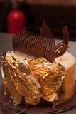 Fabricación de la torta Fotografía de archivo libre de regalías