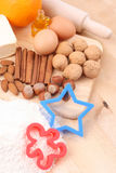 Fabricación de las galletas foto de archivo libre de regalías