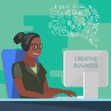 Fabricación de negocio moderno libre illustration