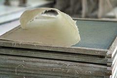 Fabricación de papel Imagenes de archivo