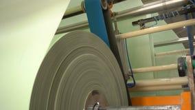 Fabricación de papel higiénico y de servilletas metrajes