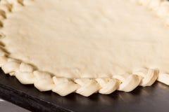 Fabricación de torta en blanco Fotografía de archivo