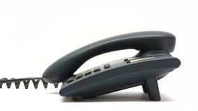 Fabricación de una llamada de teléfono almacen de video