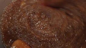 Fabricación de una torta de zanahoria 02 metrajes
