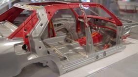 Fabricación del coche. almacen de metraje de vídeo