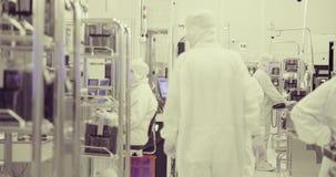 Fabricación del sitio limpio de las obleas de silicio para la industria de los semiconductores metrajes