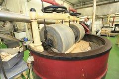 Fabricación del turrón Foto de archivo
