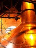 Fabricación del whisky imagenes de archivo