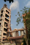 Fabricación industrial del cemento Fotos de archivo