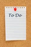 Fabricación su para hacer la lista Imagen de archivo libre de regalías