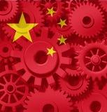 Fabricación de la industria de China hecha en fábrica Fotografía de archivo