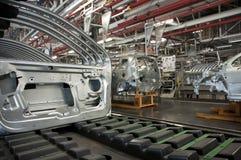 Fabricación de la industria del automóvil Foto de archivo libre de regalías