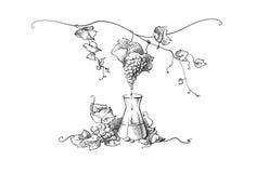 Fabricación del jugo de uva Fotografía de archivo libre de regalías