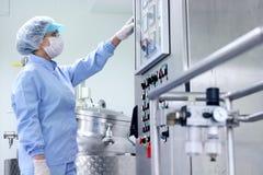 Fabricación farmacéutica Imagen de archivo libre de regalías