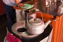 Fabricant de café de café thaïlandais Café antique Nonthaburi Image libre de droits