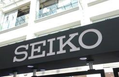 Fabricant de montre de Seiko Japanese photo libre de droits