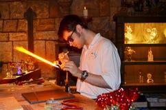 Fabricant en verre de Disney Photographie stock