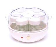 Fabricante automático del yogur Foto de archivo libre de regalías