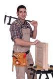 Fabricante de armário Fotografia de Stock Royalty Free