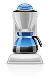 Fabricante de café stock de ilustración