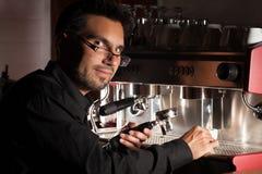 Fabricante de café Fotografía de archivo libre de regalías