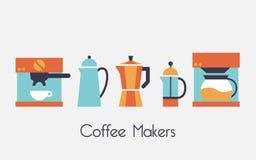 Fabricante de café Imagenes de archivo