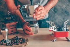 Fabricante de café foto de archivo