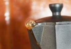 Fabricante de café Imágenes de archivo libres de regalías