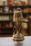 Fabricante de café viejo Foto de archivo libre de regalías