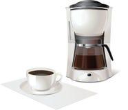 Fabricante de café Imagen de archivo libre de regalías