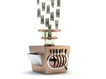 Fabricante de dinero stock de ilustración